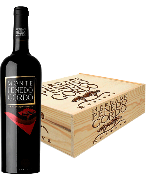 Wooden wine box 3 bottles of Reserva
